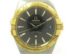 OMEGA オメガ コンステレーション 腕時計 ウォッチ 123.20.35.20.01.002 ブラックXシルバ
