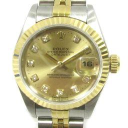 ROLEX ロレックス デイトジャスト 腕時計 ウォッチ 69173G ゴールド ステンレススチール(SS) xK