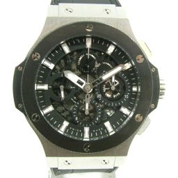 HUBLOT ウブロ アエロバン 腕時計 ウォッチ 311.SM.1170.GR ブラック X シルバー ステンレ