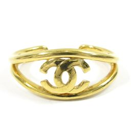 CHANEL Chanel Bangle Bracelet Gold Gold Plated (GP) [Used] [Rank A] Ladies