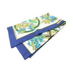 HERMES Hermes Carre 90 Scarf Blue X Multi Silk [Used] [Rank B] Ladies