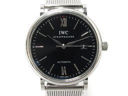 IWC インターナショナル・ウォッチ・カンパニー ポートフィノ 腕時計 ウォッチ IW356506 ブラック ステ