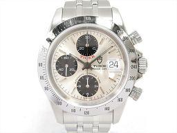 TUDOR チュードル クロノタイム タイガー 腕時計 ウォッチ 79280 シルバー ステンレススチール(SS)