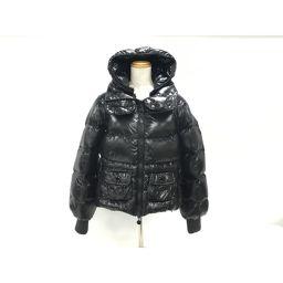 MONCLER モンクレール ダウンジャケット ブラック ナイロン×ダウン90%×フェザー10% 【中古】【ランク