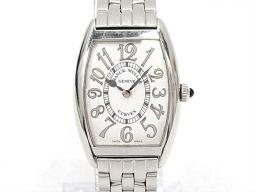 FRANCK MULLER フランク・ミュラー トノーカーベックス 腕時計 ウォッチ 1752QZ シルバー ステ