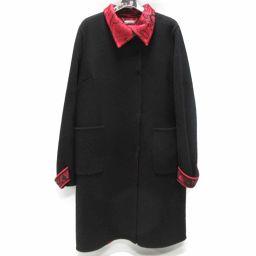 LEONARD レオナール コート ブラック ウール 【中古】【ランクA】 レディース