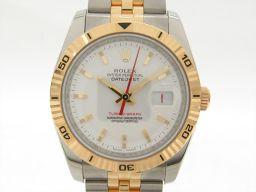 ROLEX ロレックス ターノグラフ 腕時計 ウォッチ 116263 ホワイト ステンレススチール(SS) xK1