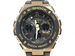 CASIO カシオ G-SHOCK 腕時計 ウォッチ GST-W100G ブラック ステンレススチール(SS) x