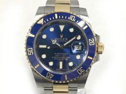 ROLEX ロレックス サブマリーナデイト ウォッチ 時計 116613LB ブルー ステンレススチール(SS)