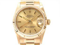 ROLEX ロレックス デイトジャスト 腕時計 ウォッチ 68278 ゴールド K18YG(750)イエローゴール