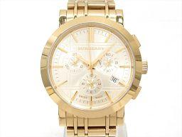 BURBERRY バーバリー 腕時計 ウォッチ BU1757 ゴールド ステンレススチール(SS) 【中古】【ラン