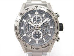 TAG HEUER タグ・ホイヤー カレラ キャリバーホイヤー01 腕時計 ウォッチ CAR2A8A グレー チタ