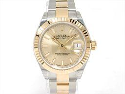 ROLEX ロレックス デイトジャスト 腕時計 ウォッチ 279173 ゴールド ステンレススチール(SS) xK