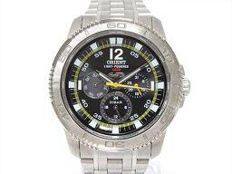 ORIENT オリエント 腕時計 ウォッチ ブラック ステンレススチール(SS) 【中古】【ランクB】 メンズ