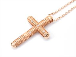 DAMIANI ダミアーニ メトロポリタンネックレス クリアー K18PG(750) ピンクゴールド xダイヤモン