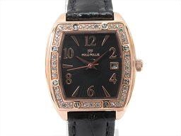 Folli Follie フォリフォリ 腕時計 ウォッチ WF9B004SD ブラック ステンレススチール(SS)