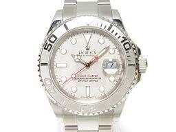 ROLEX ロレックス ヨットマスター ロレジウム 腕時計 ウォッチ 16622 グレー ステンレススチール(SS