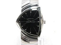 HAMILTON ハミルトン ベンチュラ 腕時計 ウォッチ H244110 ブラック ステンレススチール(SS)