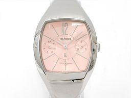 SEIKO セイコー ルキア 腕時計 ウォッチ 5Y89-5A20 ピンク ステンレススチール(SS) 【中古】【