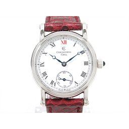 CHRONOSWISS クロノスイス オレア 腕時計 ウォッチ CH7163 ホワイト ステンレススチール(SS)