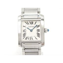 Cartier カルティエ タンクフランセーズ 腕時計 ウォッチ W5100803 シルバー ステンレススチール(