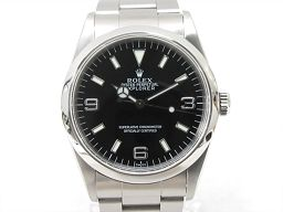 ROLEX ロレックス エクスプローラー1 腕時計 ウォッチ 14270 ブラック ステンレススチール(SS) 【