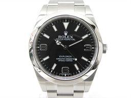 ROLEX ロレックス エクスプローラー1 腕時計 ウォッチ 214270 ブラック ステンレススチール(SS)