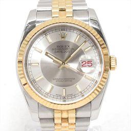 ROLEX ロレックス デイトジャスト 腕時計 ウォッチ 116233 シルバー ステンレススチール(SS) xK