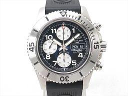 BREITLING ブライトリング スーパーオーシャン クロノグラフ 腕時計 ウォッチ A13341 ブラック ス