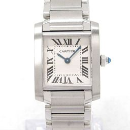 Cartier カルティエ タンクフランセーズSM 腕時計 ウォッチ W51008Q3 アイボリー ステンレススチ