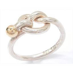 TIFFANY&CO ティファニー ラブノットリング 指輪 シルバーxゴールド シルバー(925)xK18YG(7