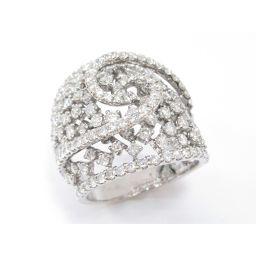 JEWELRY ジュエリー ダイヤモンド リング 指輪 シルバー K18WG(750) ホワイトゴールド ×ダイヤ