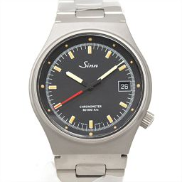 Sinn ジン 腕時計 ウォッチ ブラック チタン 【中古】【ランクB】 メンズ