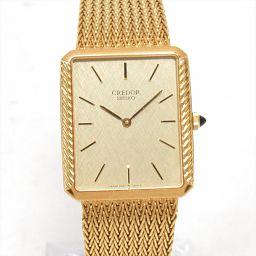 SEIKO セイコー クレドール 腕時計 ウォッチ 5930-5550 ゴールド K18YG(750)イエローゴー