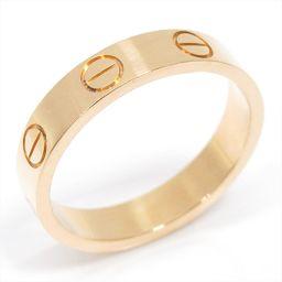 Cartier カルティエ ミニラブリング 指輪 ゴールド K18YG(750) イエローゴールド 【中古】【ラン
