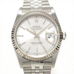 ROLEX ロレックス デイトジャスト 腕時計 ウォッチ 16234 シルバー ステンレススチール(SS) xK1