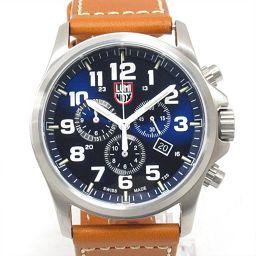 LUMINOX ルミノックス アタカマ フィールド クロノグラフ 腕時計 ウォッチ 1944 ネイビー ステンレス