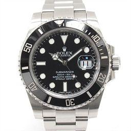 ROLEX ロレックス サブマリーナ デイト 腕時計 ウォッチ 116610LN ブラック ステンレススチール(S