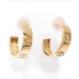Cartier カルティエ ラブピアス ゴールド K18YG(750) イエローゴールド 【中古】【ランクA】 レ