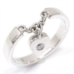 Cartier カルティエ モナムールリング 指輪 B4063449 クリアー K18WG(750) ホワイトゴー