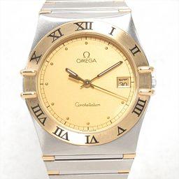 OMEGA オメガ コンステレーション 腕時計 ウォッチ ゴールド ステンレススチール(SS) xK18(イエロー