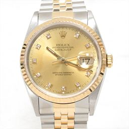 ROLEX Rolex Datejust Watch Watch 16233G Gold Stainless Steel (SS) xK