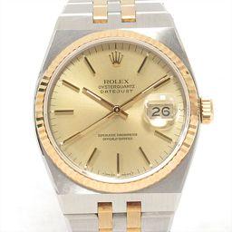 ROLEX Rolex Oysterquartz Datejust Watch Watch 17013 Gold Stainless Steel