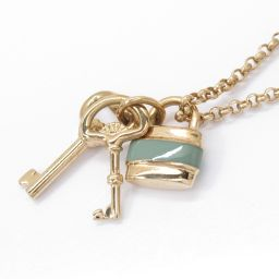 Chloe Chloe Necklace Gold x Green Plating [Used] [Rank A] Ladies