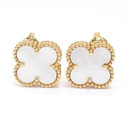 Van Cleef & Arpels Van Cleef & Arpels Vintage Alhambra Earrings Gold K18Y