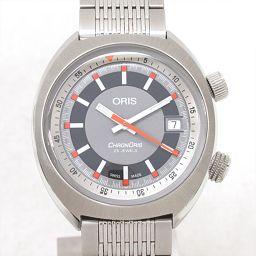 ORIS Oris Chronoris Watch Watch 73377374053M Gray Stainless Steel (SS) [Medium
