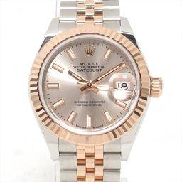 ROLEX ロレックス デイトジャスト 腕時計 ウォッチ 279171 ピンク ステンレススチール(SS) x18