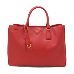 PRADA Prada Tote Bag BN1844 FUOCO (Red) Leather [Used] [Rank A] Ladies