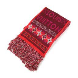 LOUIS VUITTON Louis Vuitton muffler multi-color cashmere [used] [Rank A] Ladies