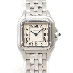Cartier カルティエ パンテールSM 腕時計 ウォッチ アイボリー ステンレススチール(SS) 【中古】【ラ